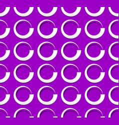 Repeatable pattern with volute spirally shapes vector