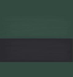 school chalkboard in black and green vector image
