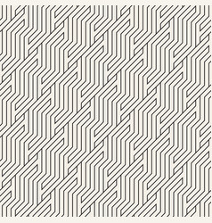seamless pattern geometric striped zigzag vector image