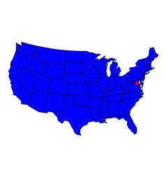 Washington dc location vector