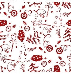 Wrapping paper seamless background for holiday vector