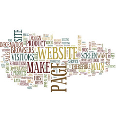 Your websiteis you text background word cloud vector