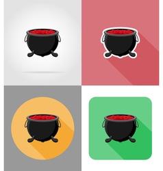 halloween flat icons 08 vector image vector image