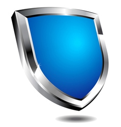 Modern Blue Shield vector image