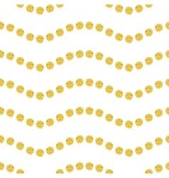 Wavy seamles pattern vector image vector image