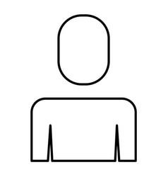 businessman portrait male ico vector image