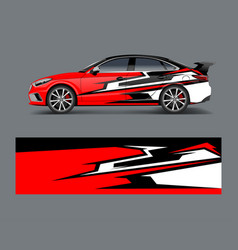 Company branding car decal wrap design graphic vector