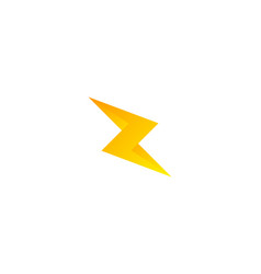 energy letter z logo icon design vector image