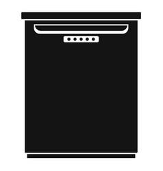 Freezer icon simple style vector