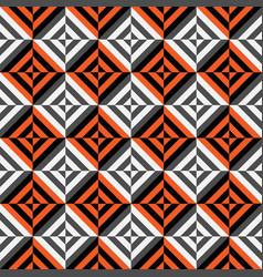 Geometric seamless pattern with stripes vector