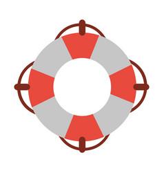 life preserver icon image vector image