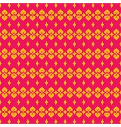 Pink yellow modern classic design pattern vector