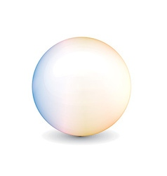 Shiny ball vector