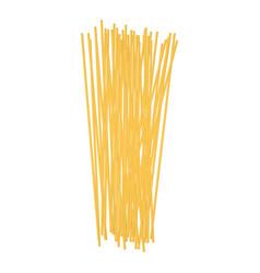 spaghetti mockup realistic style vector image