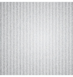 Canvas texture with stripes vector image vector image