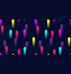 colorful abstract geometric pattern with 3d vector image