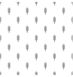 Inlet spike pattern vector