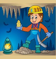 Miner theme image 3 vector