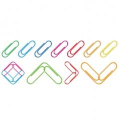 Paper clip vector