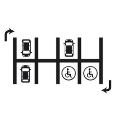 Parking signal vector
