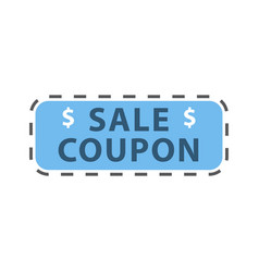 Sale banner template design in color vector