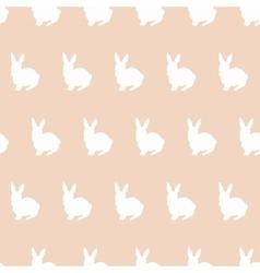 sitting rabbits vector image