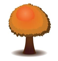 Stylized autumn tree5 vector