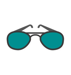 sunglasses eyewear icon image vector image