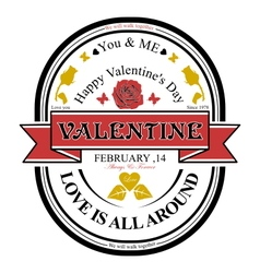 Valentine logo vector