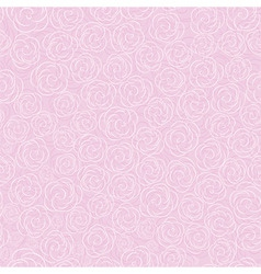pink vector rose seamless flow vector image