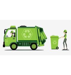 Garbage vector image