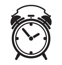 Alarm clock resize vector image