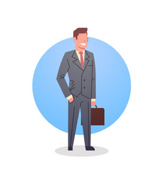 Business man icon boss team leader occupation vector