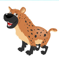 Hyena sitting vector