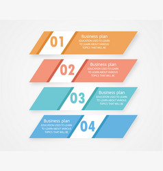 infographic can be used for presentation vector image