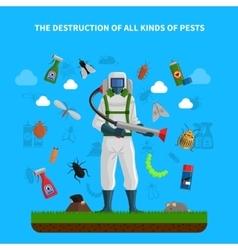 Pest Control Concept vector