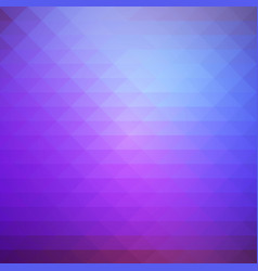 Purple lilac pink rows of triangles background vector
