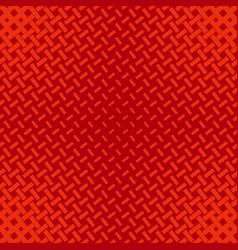 red geometrical halftone stripe pattern vector image