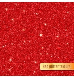 Red glitter texture vector