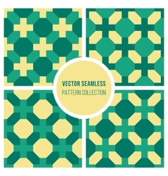 Seamless Geometric Cross Square Vintage vector