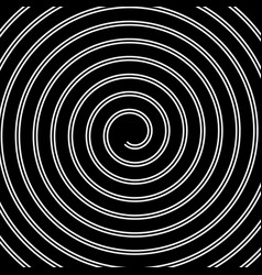 Volute spiral concentric lines circular motion vector