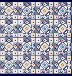 Seamless vintage color pattern vector