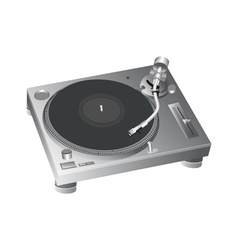 Turntable 2 vector image