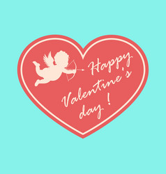 Valentine card xs vector image