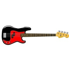Bass Guitar vector