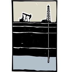 Drilling vector image