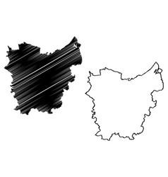 East flanders province kingdom belgium vector