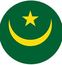 Mauritania flag vector image