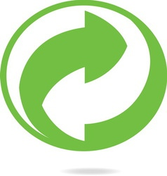 Recycling resize vector image