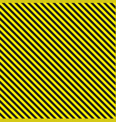 seamless diagonal background caution pattern vector image
